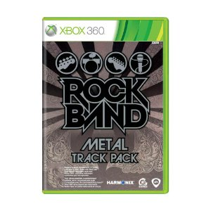 Jogo Rock Band: Metal Track Pack - Xbox 360