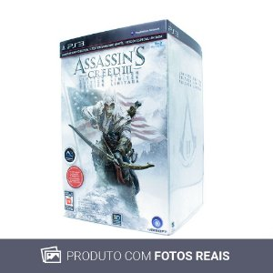 Jogo Assassin's Creed III (Limited Edition) - PS3
