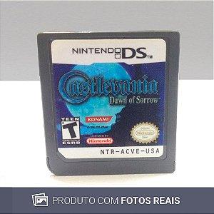 Jogo Castlevania: Dawn of Sorrow - DS (Sem Capa)