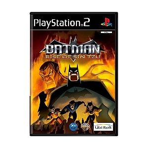 Jogo Batman: Rise of Sin Tzu - PS2