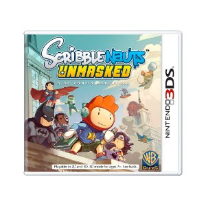 Jogo Scribblenauts Unmasked: A DC Comics Adventure - 3DS