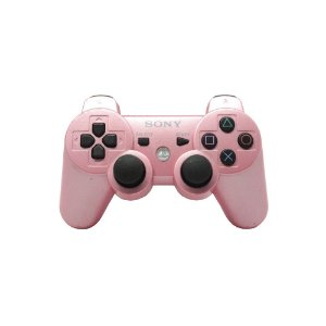 Controle Sony Dualshock 3 Rosa - PS3