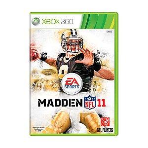 Jogo Madden NFL 11 - Xbox 360