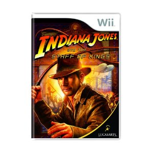 Jogo Indiana Jones and The Staff of Kings - Wii