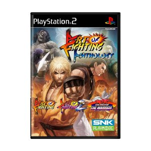 Jogo Art of Fighting Anthology - PS2