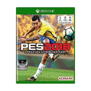 Jogo Pro Evolution Soccer 2018 (PES 18) - Xbox One