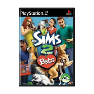 Jogo The Sims 2 Pets - PS2