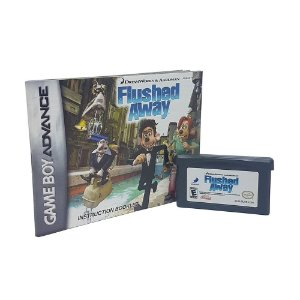 Jogo Flushed Away - GBA Game Boy Advance