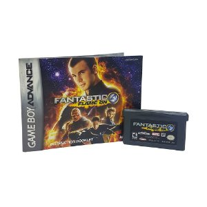 Jogo Fantastic 4: Flame On - GBA - Game Boy Advance
