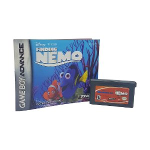 Jogo 2 em 1 : Monsters, Inc. + Finding Nemo - GBA Game Boy Advance