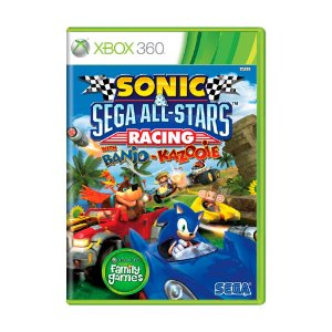 Jogo Sonic & SEGA All-Stars Racing With Banjo-Kazooie - Xbox 360