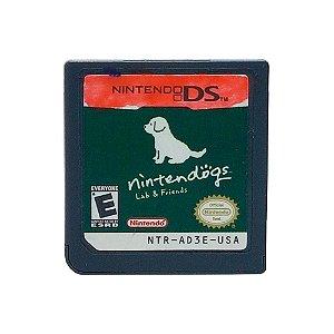 Jogo Nintendogs: Lab & Friends - DS (Sem Capa)