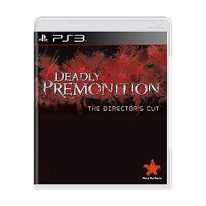 Jogo Deadly Premonition - PS3