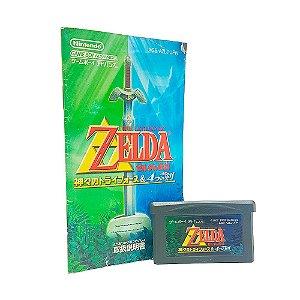 Jogo Zelda no Densetsu: Kamigami no Triforce & Yotsu no Tsurugi - GBA (Japonês)