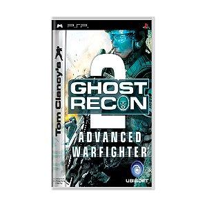 Jogo Ghost Recon: Advanced Warfighter 2 - PSP