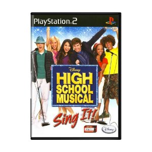 Jogo High School Musical: Sing It - PS2