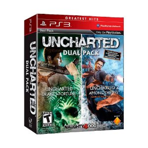 Jogo Uncharted Dual Pack - PS3