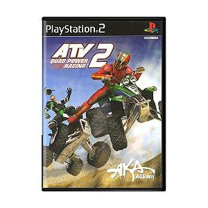 Jogo ATV Quad Power Racing 2 - PS2