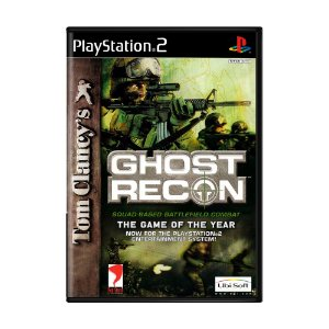 Jogo Tom Clancy's Ghost Recon - PS2