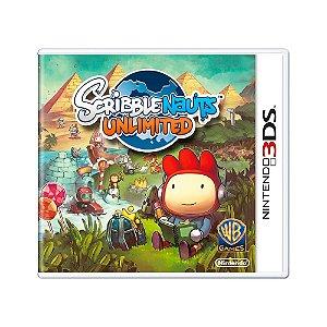 Jogo Scribblenauts Unlimited - 3DS