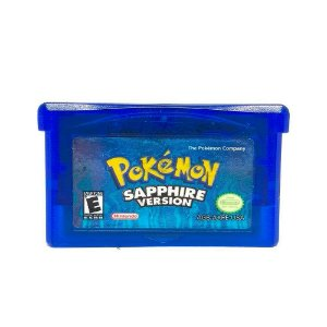 Jogo Pokémon Sapphire Version - Game Boy