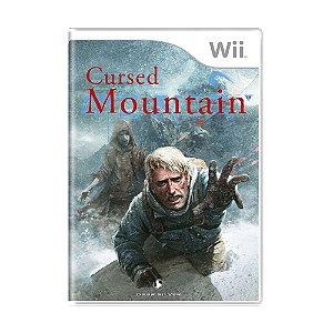 Jogo Cursed Mountain - Wii