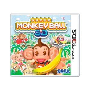 Jogo Super Monkey Ball 3D - 3DS