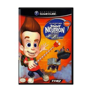 Jogo The Adventures of Jimmy Neutron: Jet Fusion - GC - GameCube