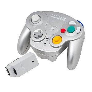 Controle Nintendo Sem Fio Prata - GameCube