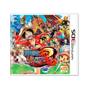 Jogo One Piece Unlimited World Red - 3DS