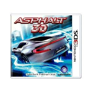Jogo Asphalt 3D - 3DS