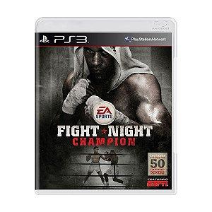Jogo Fight Night Champion - PS3