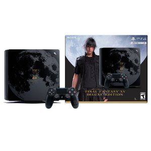 Console PlayStation 4 Slim 1TB (Final Fantasy Edition) - Sony
