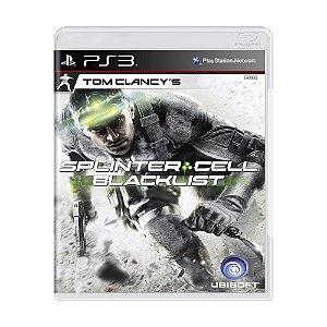 Jogo Tom Clancy's: Splinter Cell Blacklist - PS3