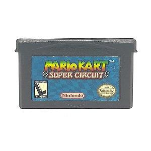 Jogo Mario Kart Super Circuit - GBA Game Boy Advance