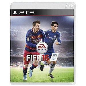 Jogo FIFA 16 - PS3