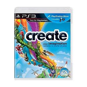 Jogo Create - PS3