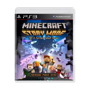 Jogo Minecraft: Story Mode - PS3