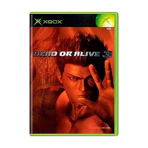 Jogo Dead or Alive 3 - Xbox