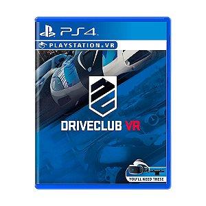 Jogo DriveClub VR - PS4 VR