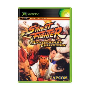 Jogo Street Fighter (Anniversary Collection) - Xbox