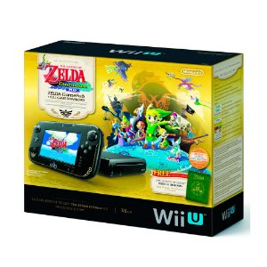 Console Nintendo Wii U Deluxe Set 32GB (Edição The Legend of Zelda) - Nintendo