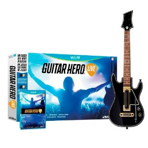Jogo Guitar Hero: Live (Guitar Bundle) - Wii U