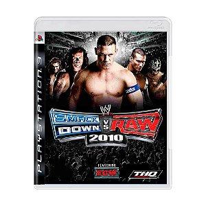 Jogo WWE SmackDown! vs Raw 2010 - PS3