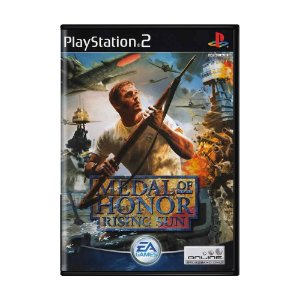 Jogo Medal of Honor: Rising Sun - PS2