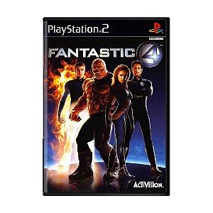 Jogo Fantastic 4 - PS2