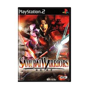 Jogo Samurai Warriors - PS2
