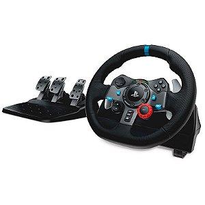 Volante Logitech Driving Force G29 - PS4, PS3 e PC