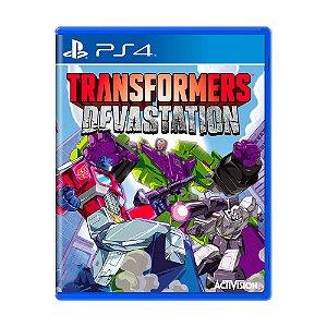 Jogo Transformers: Devastation - PS4