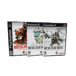 Jogo Metal Gear Solid: The Essential Collection - PS2